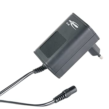 ANSMANN Cargador universal APS 600 para aparatos electrónicos - Potencia: 3 a 12V, 7.2 W - 7 conectores de recambio - Fuente de alimentación