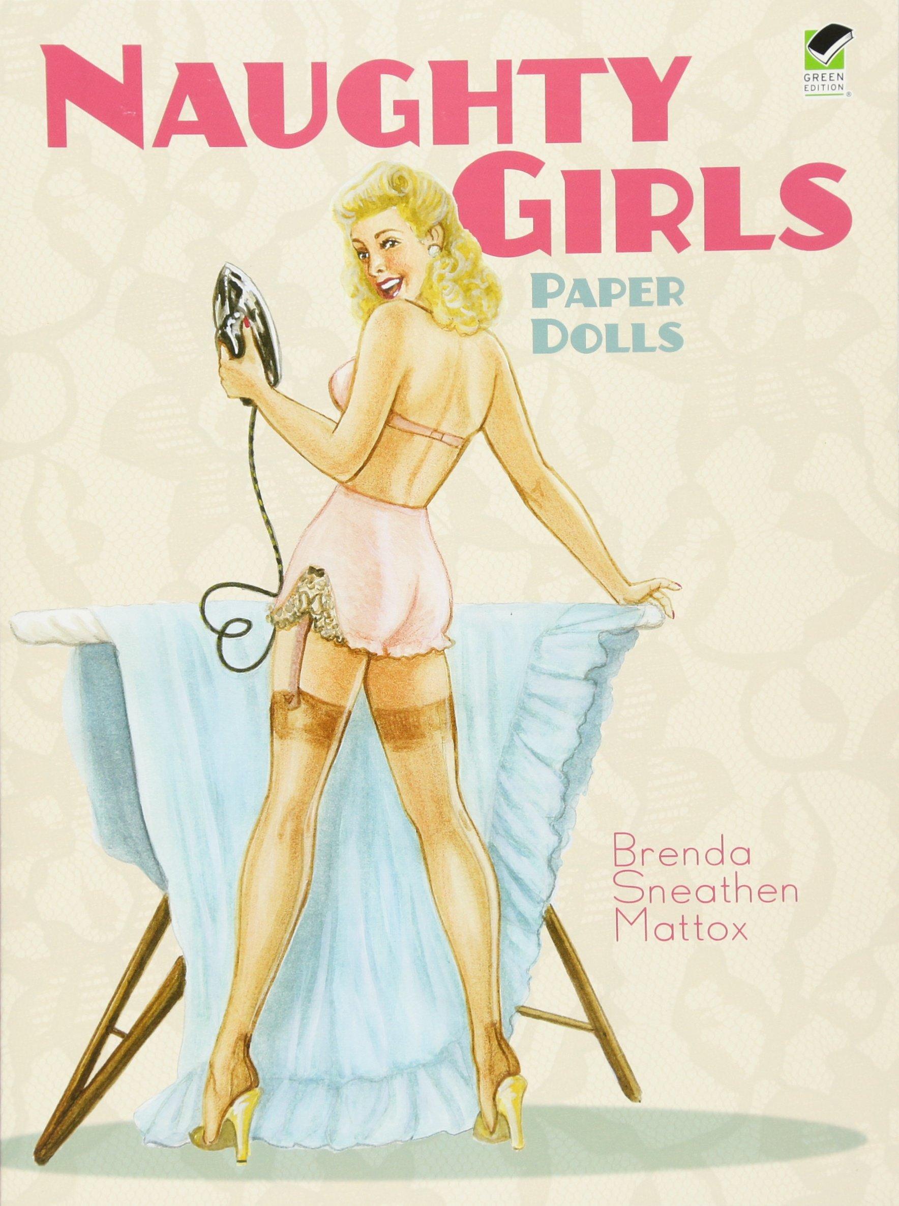 Naughty Girls Paper Dolls Dover Paper Dolls  Mattox, Brenda ...