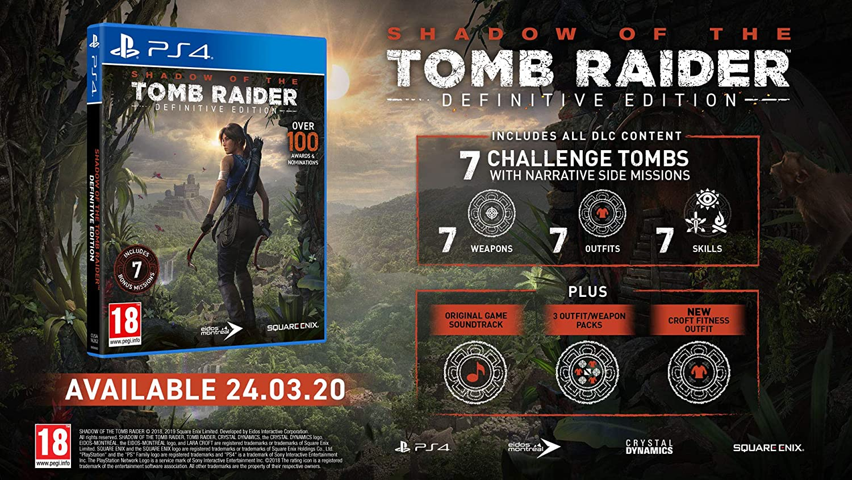 Shadow of the Tomb Raider - Definitive Edition: Amazon.es: Videojuegos