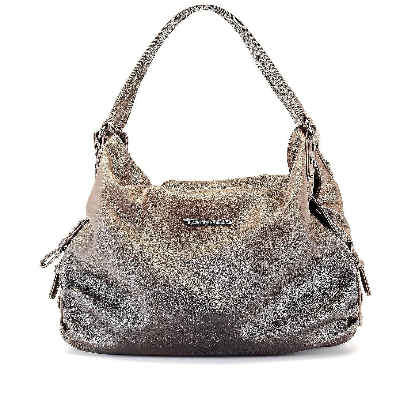 TAMARIS Handtasche, Schultertasche, 3 Farben: antelope beige