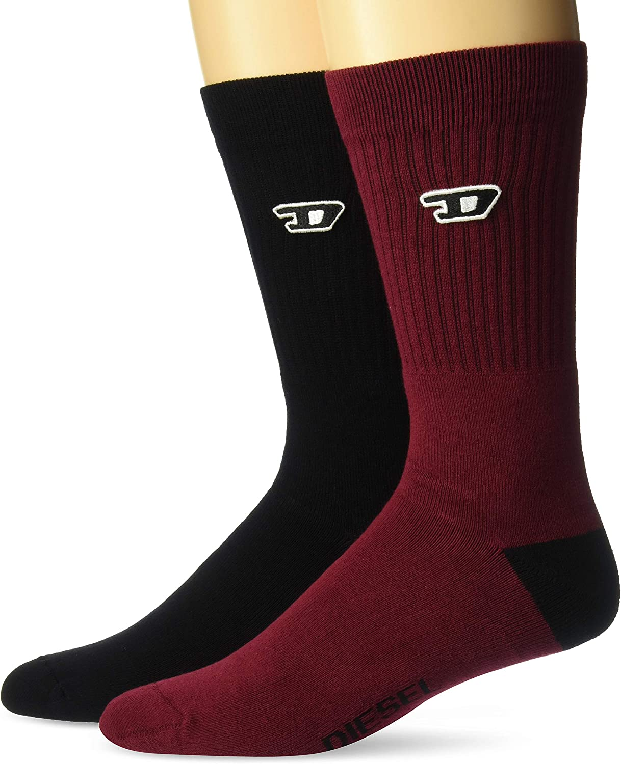 Diesel Men's RAY-TWOPACK Socks 2pack