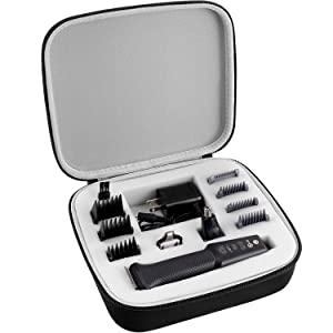 GWCASE Case for Philips Norelco Multigroom All-In-One Series 3000 MG3750, Storage Holder fits for 13 attachment trimmer and Accessories(Box Only)