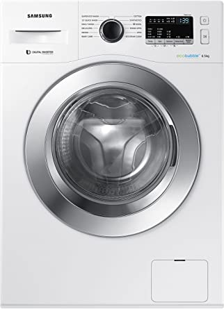 Samsung 6.5 kg Fully-Automatic Front Loading Washing Machine (WW65M224K0W/TL, White)