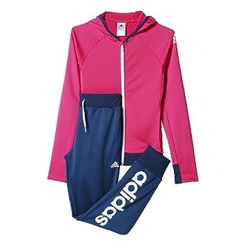 adidas Mädchen Trainingsanzug Yg S Hd PES Ts