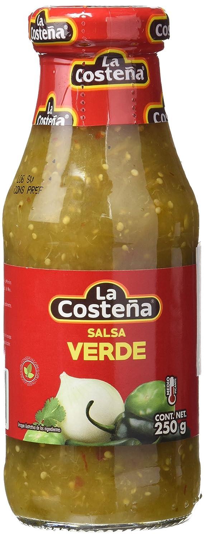 La Costeña Salsa Verde - Paquete de 20 x 250 gr - Total: 5000 gr: Amazon.es: Alimentación y bebidas