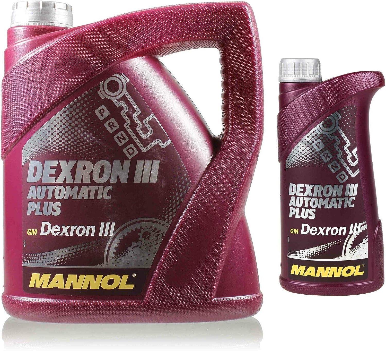 Mannol 4 1 5 Liter Dexron Iii Atf GetriebeÖl Auto