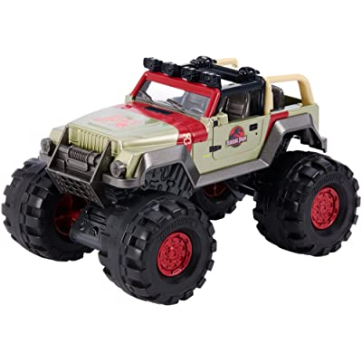 Matchbox Jurassic World '93 Jeep Wrangler: Mattel: Toys & Games