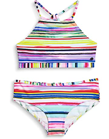 584dbe598b Esprit Hazel Beach Yg Americ Neck+Hip - Ensemble de Bain - Fille
