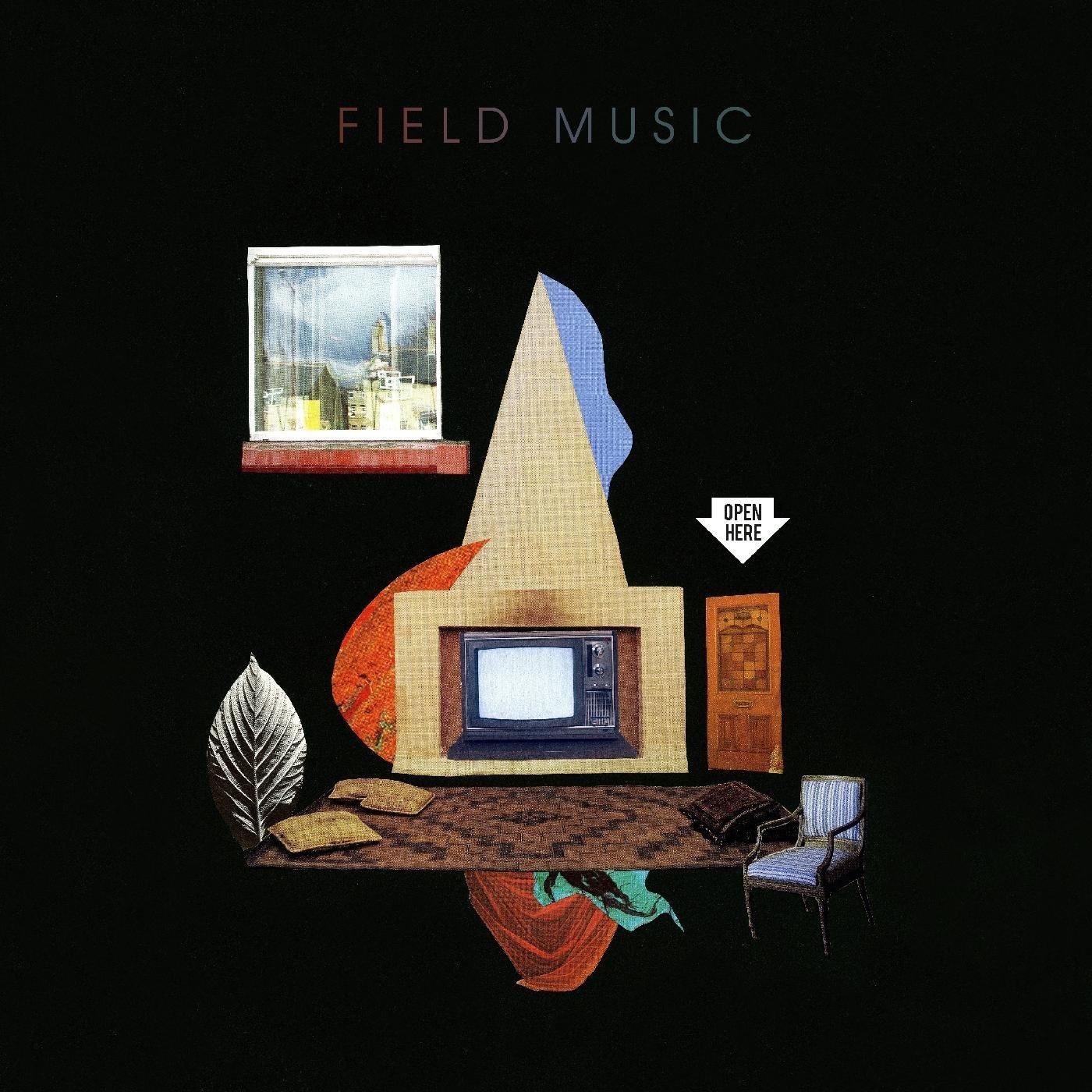 CD : Field Music - Open Here (CD)