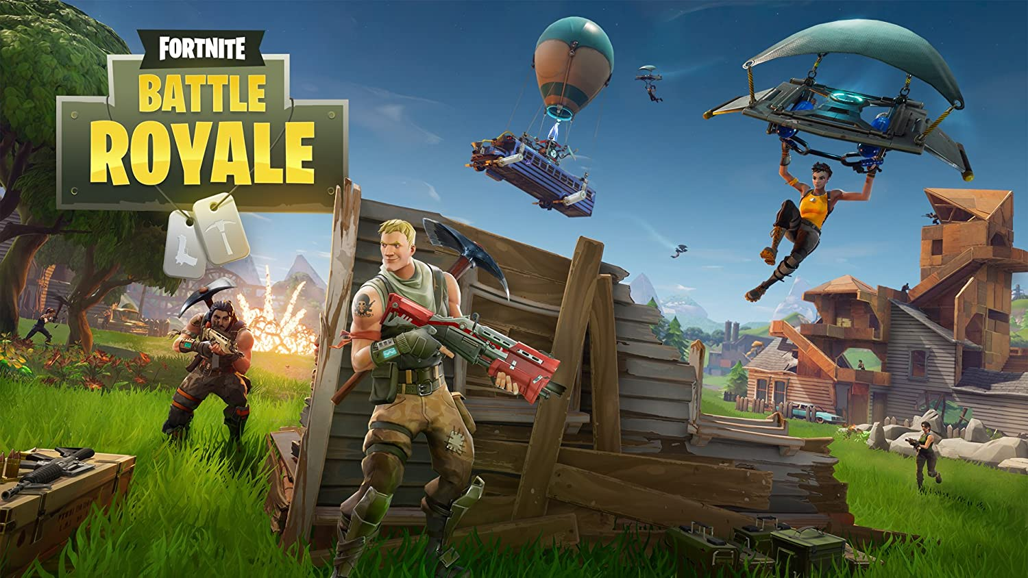 Funky Store Fornite Battle Royale Game Silk Poster (Without Frame) Wall Decor 24x36 inches (2)