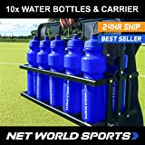 Sports Drink Water Bottle Carrier - With or Without Bottles. Stay hydrated and perform to your best ability. [Net World Sports]