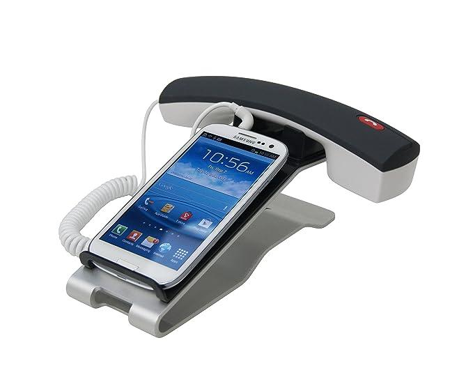 Porta Iphone Da Scrivania.Iclooly Supporto Per Telefono Con Cornetta Da Scrivania Per Cellulari E Smartphone Iphone 6s 6 Samsung Galaxy Lg
