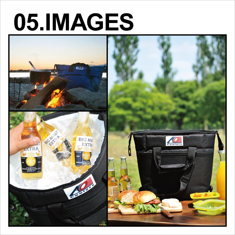 12-Can a 48-Can AO Coolers Lienzo Suave refrigerador con Aislamiento de Alta Densidad