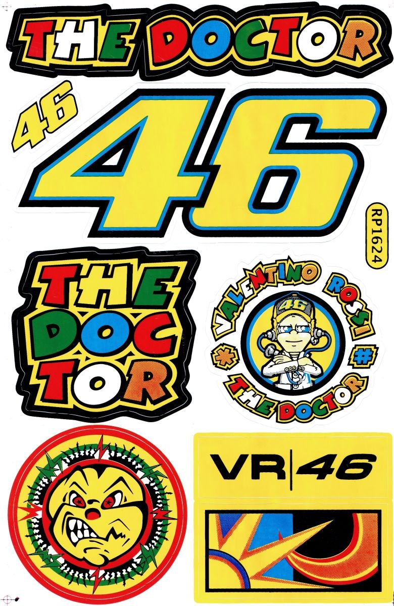by soljo Sponsor Sponsors Sticker Tuning Racing Motocross Autocollant Feuille 27 x 18 cm A498-SP
