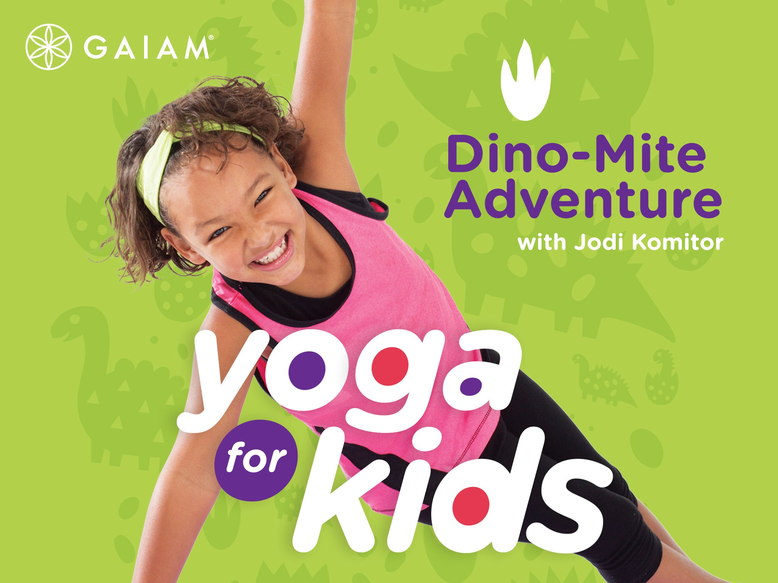 Amazon.com: Gaiam: Yoga For Kids: Dino-Mite Adventure: Gaiam ...