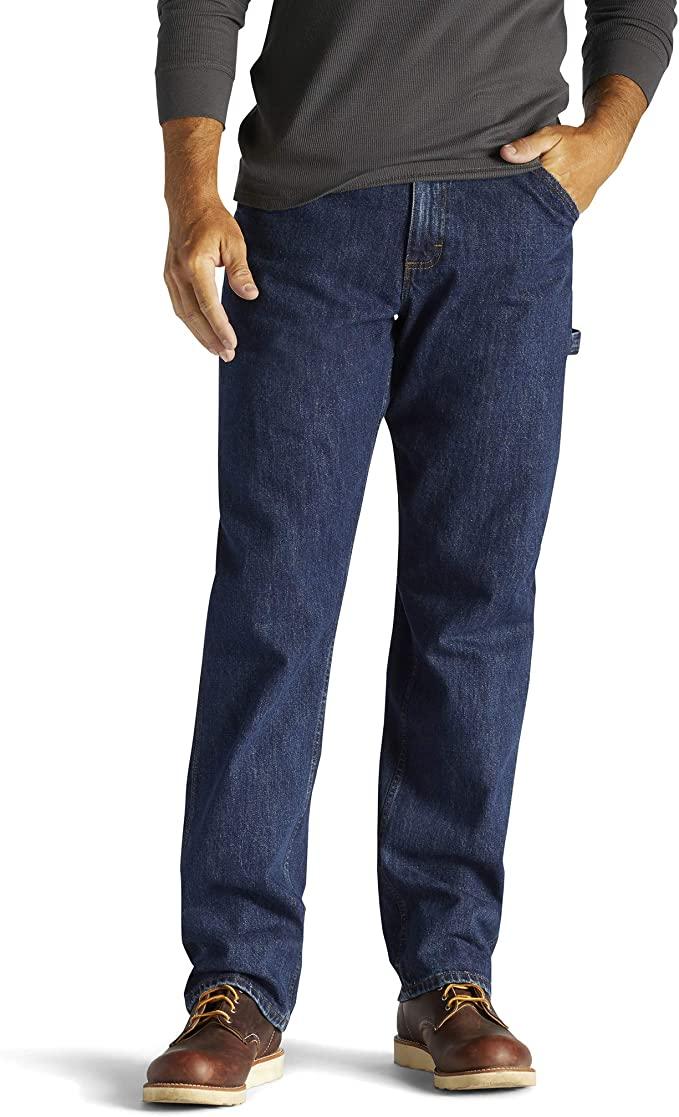Lee Mens Big-Tall Custom Fit Carpenter Jean