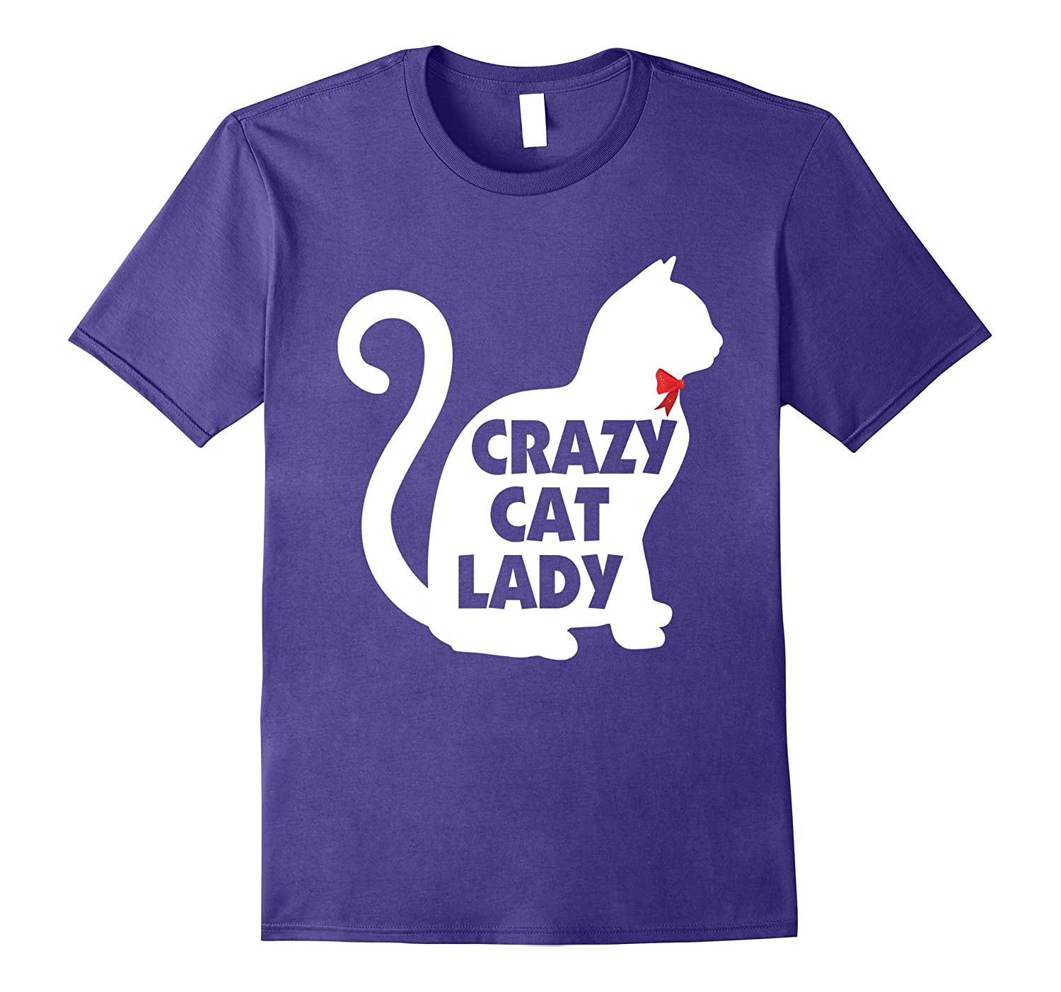 Crazy Cat Lady Cute Funny T-Shirt for Cats  Kittens Lovers-Vaci