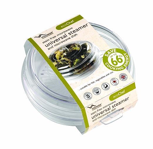 Eco-Chef MWST0023 - Vajilla de microondas, Color Transparente ...