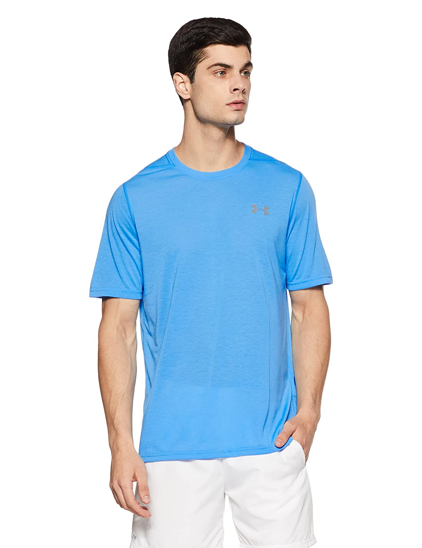 (アンダーアーマー) UNDER ARMOUR スレッドボーンサイロTシャツ(トレーニング/Tシャツ/MEN)[1289583] B01N3Q0PJU Large|Mako Blue/Graphite Mako Blue/Graphite Large