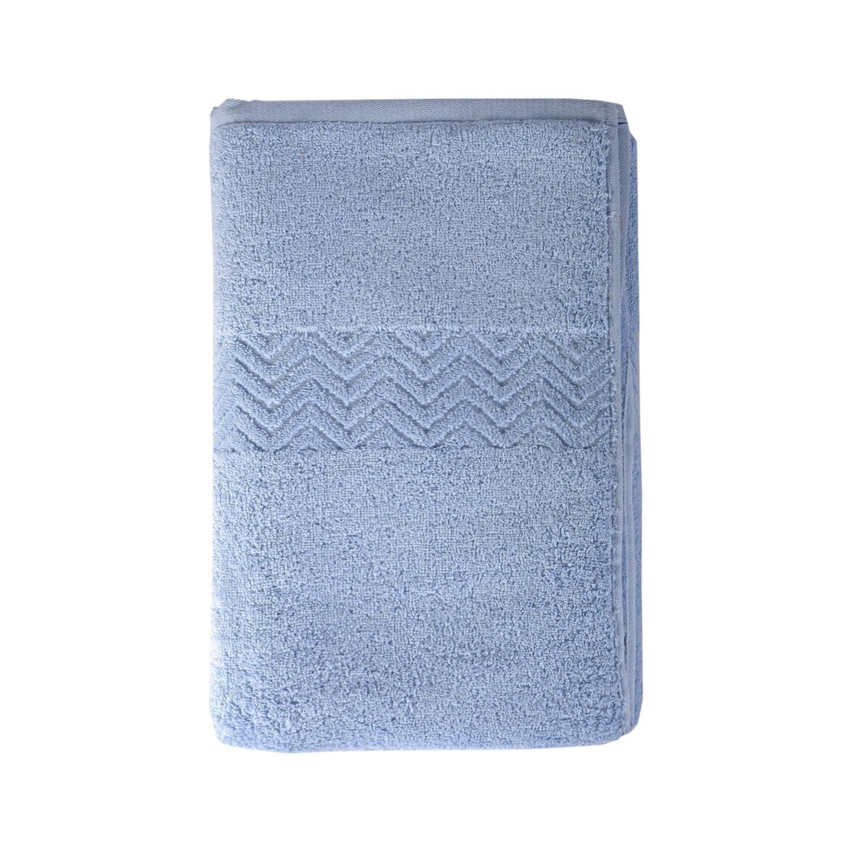 Cotton Towels ( 55 x 27 inches) Loufesy Multi-purpose Bathroom, Salon,Gym and Spa (Sky blue)