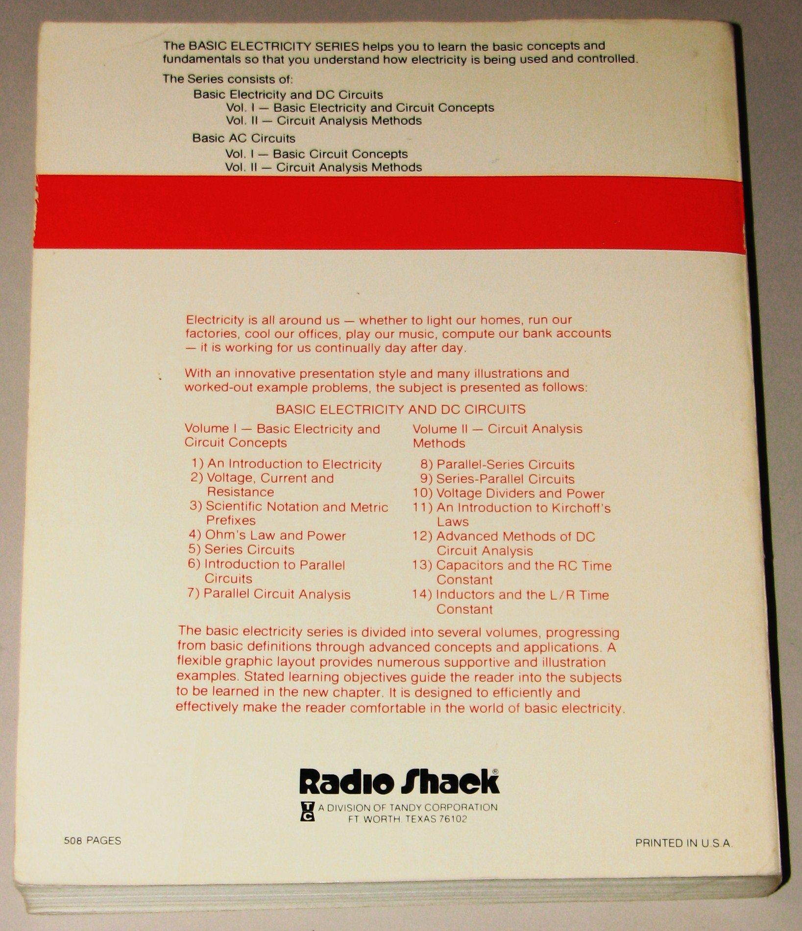 Dc Circuits Vol Ii Circuit Analysis Methods Ralpha Oliva Amazon Examples Resistors In Series And Parallel Resistor Books