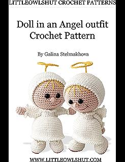 Doll in a Ladybug outfit amigurumi pattern - Amigurumipatterns.net | 320x246