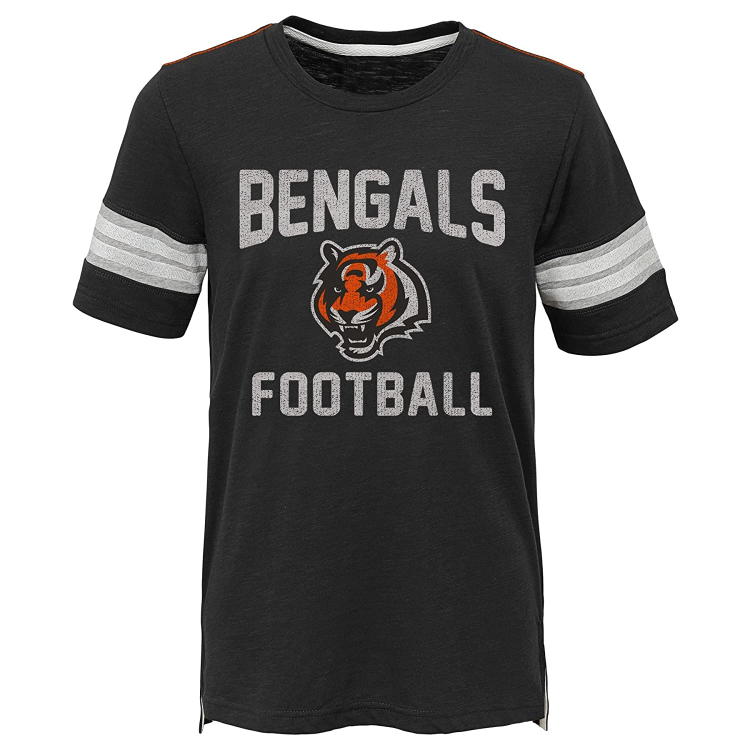 Kids Large Outerstuff NFL NFL Cincinnati Bengals Kids Prestige Short Sleeve Crew Neck Tee Black 7