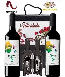 Caja Regalo Vino Tinto - Pack de 2 Botellas Ribera del Duero ...