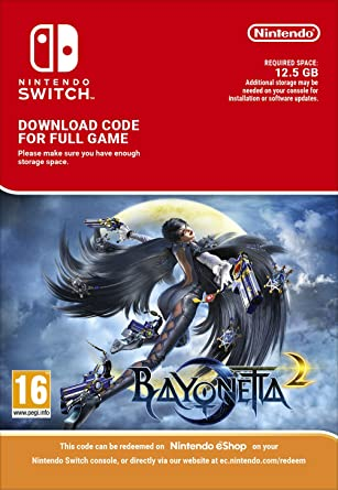 Bayonetta 2 | Switch - Download Code: Amazon co uk: PC & Video Games