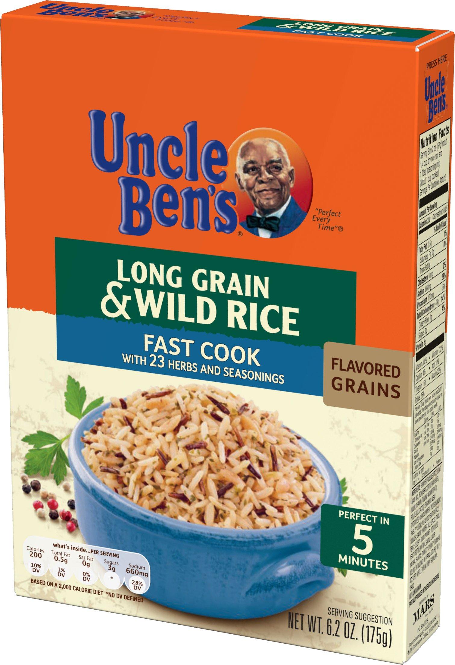 Amazon.com : Uncle Ben's Long Grain and Wild Rice Original