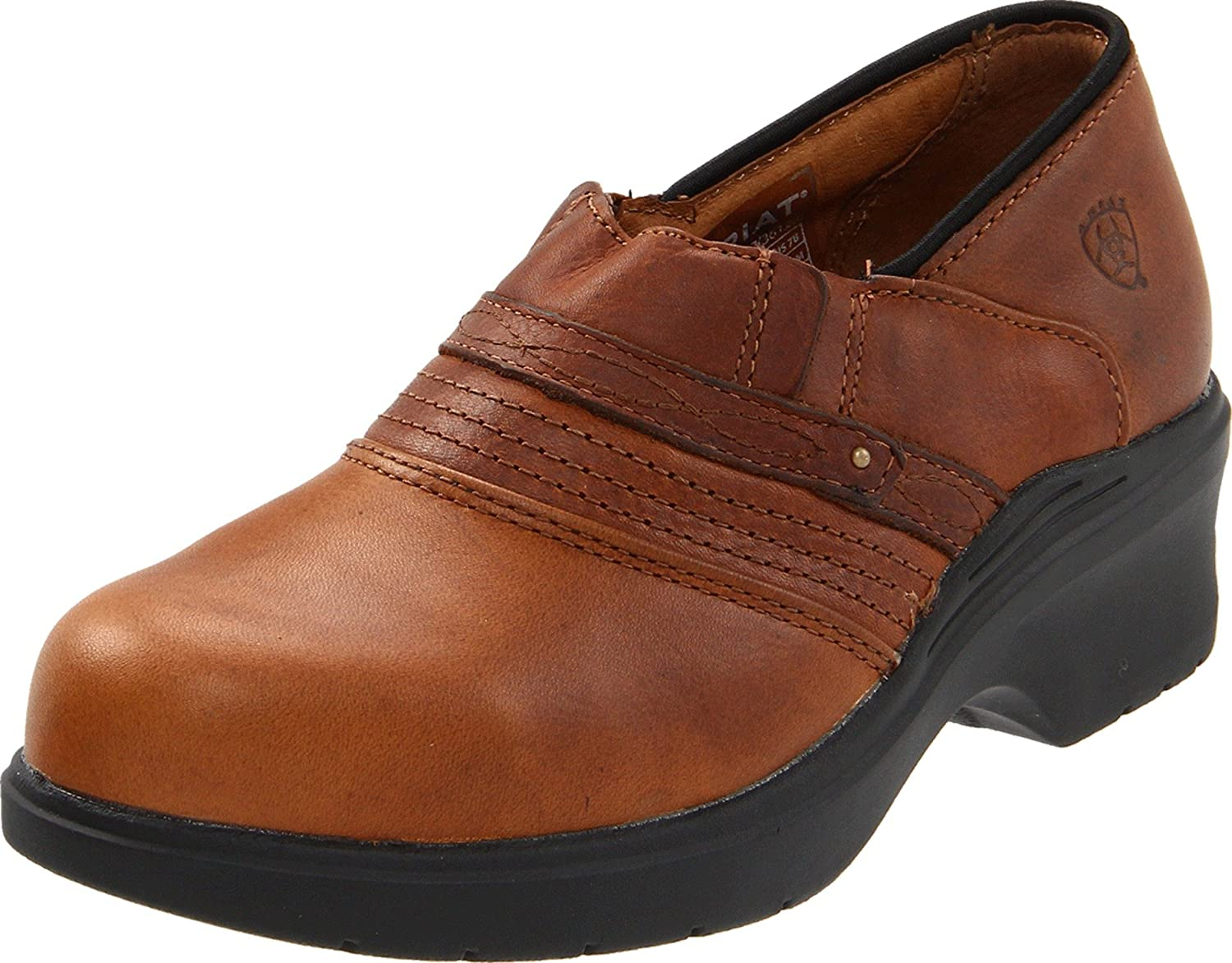 Amazon.com | Ariat Women\'s Steel Toe Safety Clog | Mules & Clogs