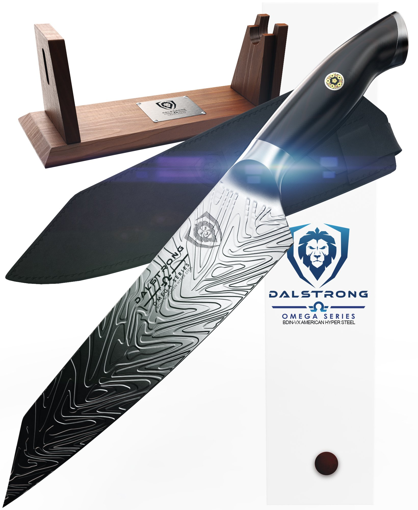 Dalstrong Inc. - Omega Series - BD1N-V - Hyper Steel - w/Sheath (8.5'' Kiritsuke-Chef Knife) by Dalstrong