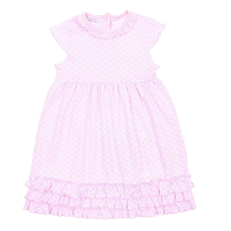 Magnolia Baby Baby Girl Sunrise Printed Toddler Printed Dress Set Pink