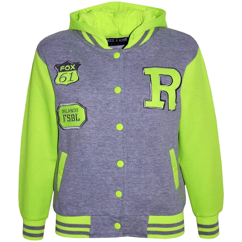 Amazon.com: Chaqueta con capucha para niños y niñas, color ...