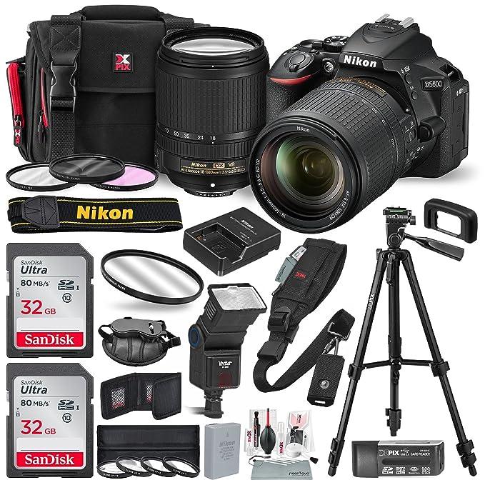 Buy Nikon D5600 DSLR Camera with NIKKOR 18-140 mm Lens w/2 x