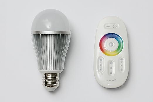 Wlan LED Lampe RGB, mit Fernbedienung, E27, Farbwechsel Glühbirne ...