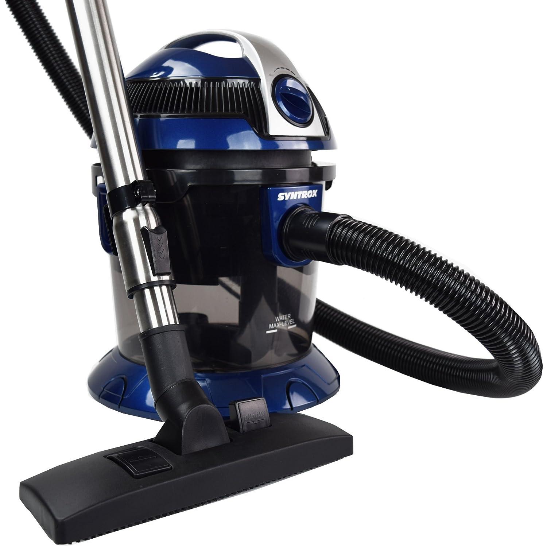 Syntrox Germany - WS qms-2400 W Keto - Aspiradora con filtro de agua seco y húmedo aspirador: Amazon.es: Bricolaje y herramientas
