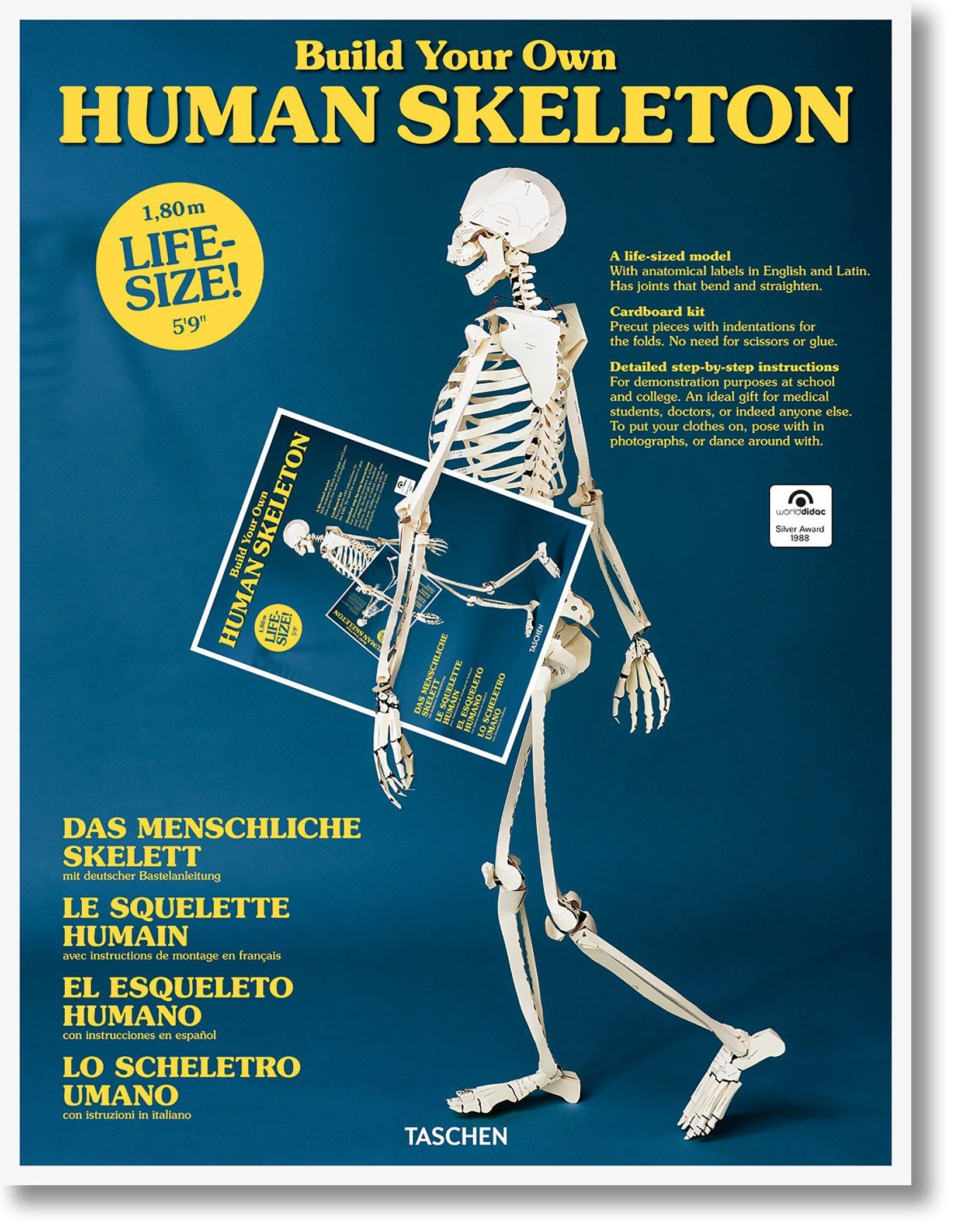 El esqueleto humano (Varia) por Taschen