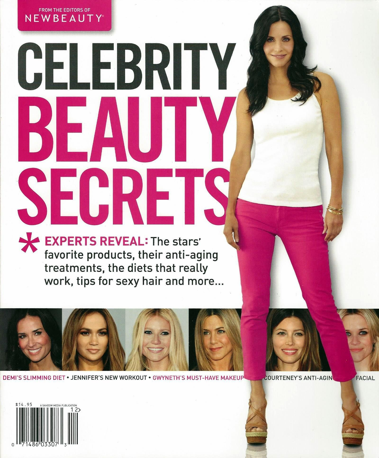 Celebrity Beauty Secrets: Editors of New Beauty: Amazon.com: Books