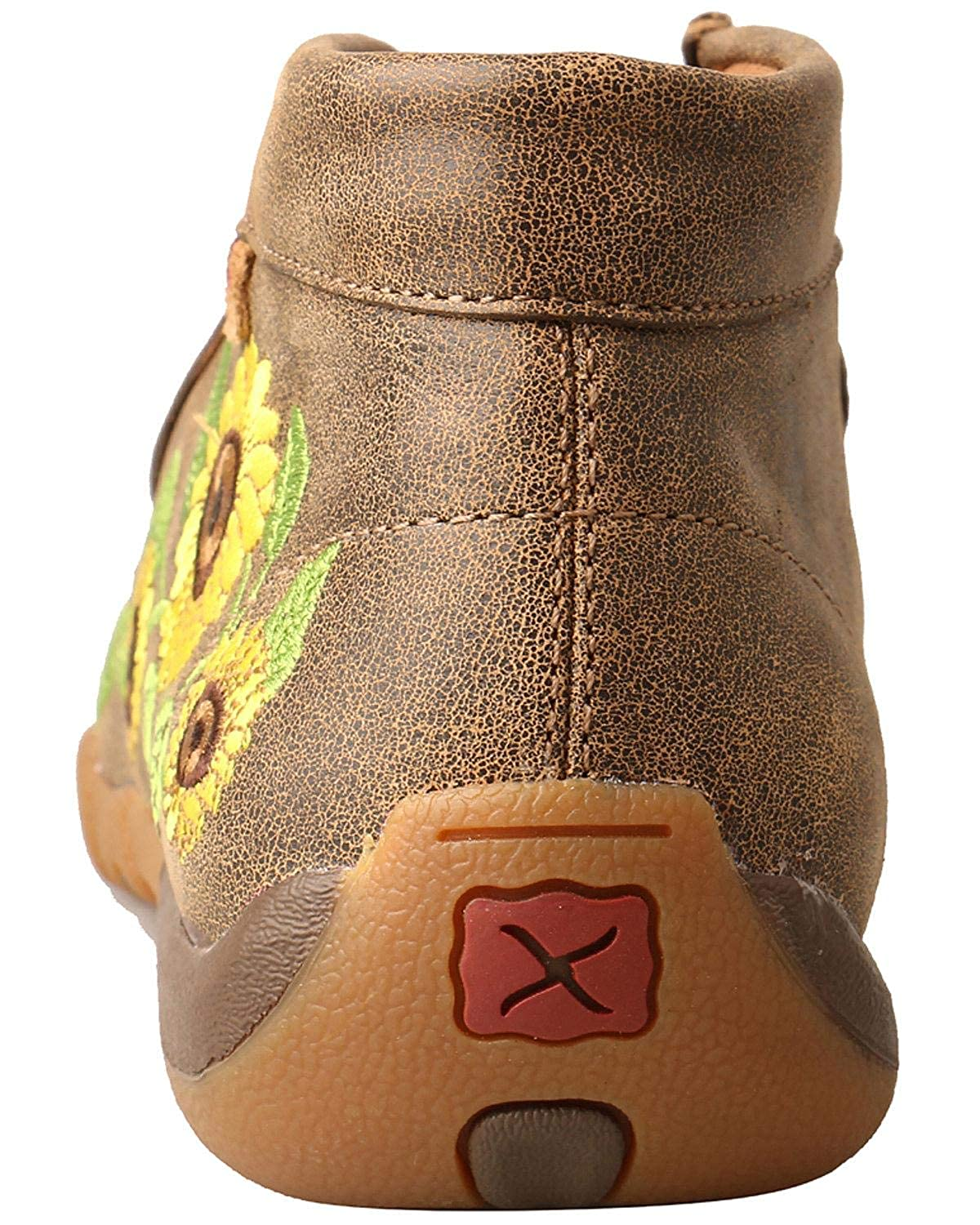 Twisted X Womens Chukka Leather Driving Moccasins
