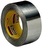 Aluminum Foil Tape 431, 25 mm x 55 m 3.1 mil