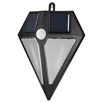 Solario Bright Solar Power Outdoor Led Light Motion Sensor Activated Outside Wall Security Led Light
