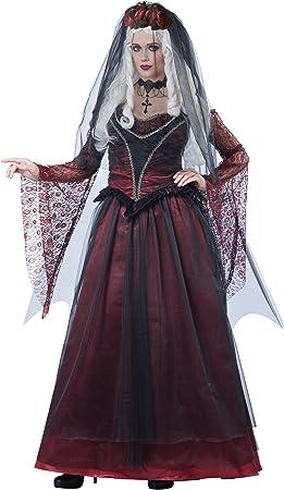 California Costumes Disfraz de Novia Vampira gótica Mujer ...