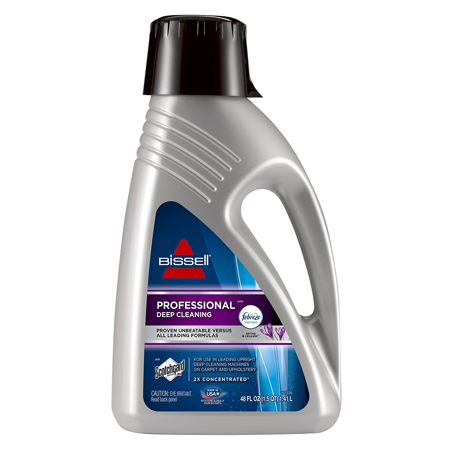 Bissell Professional Deep Cleaning with Febreze Freshness Spring & Renewal, 2515A, 48 Ounces Carpet Ceaning Formula 48 oz