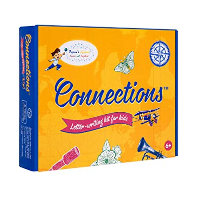Kids Stationary Set for Girls and Boys - Inspire Your Kids to Write - Stationery Has Everything A Young Writer Needs to Create Personalized Letters & Notes - Makes A Great Gift: Toys & Games