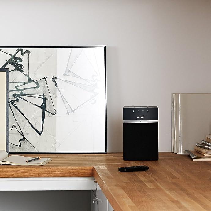 Bose SoundTouch 10 无线音乐系统 蓝牙桌面音箱 5折$99 两色可选 海淘转运到手约¥822 国内¥1700