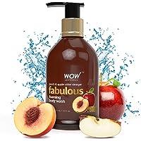 WOW Peach and Apple Cider Vinegar Body Wash, 300ml