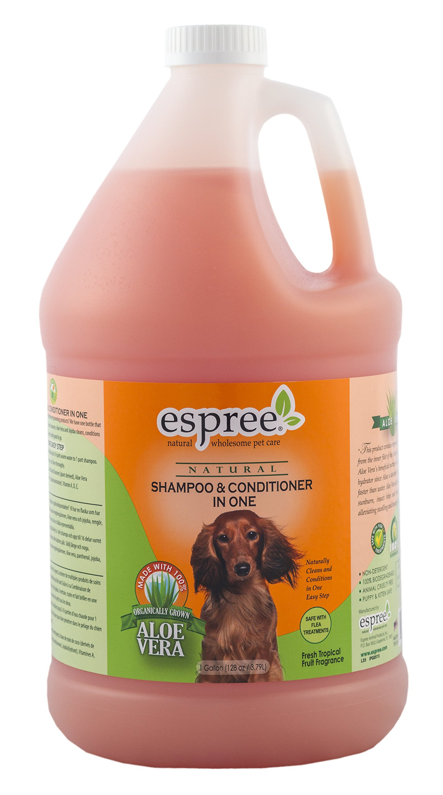 Espree Shampoo & Conditioner In One, 1 gallon