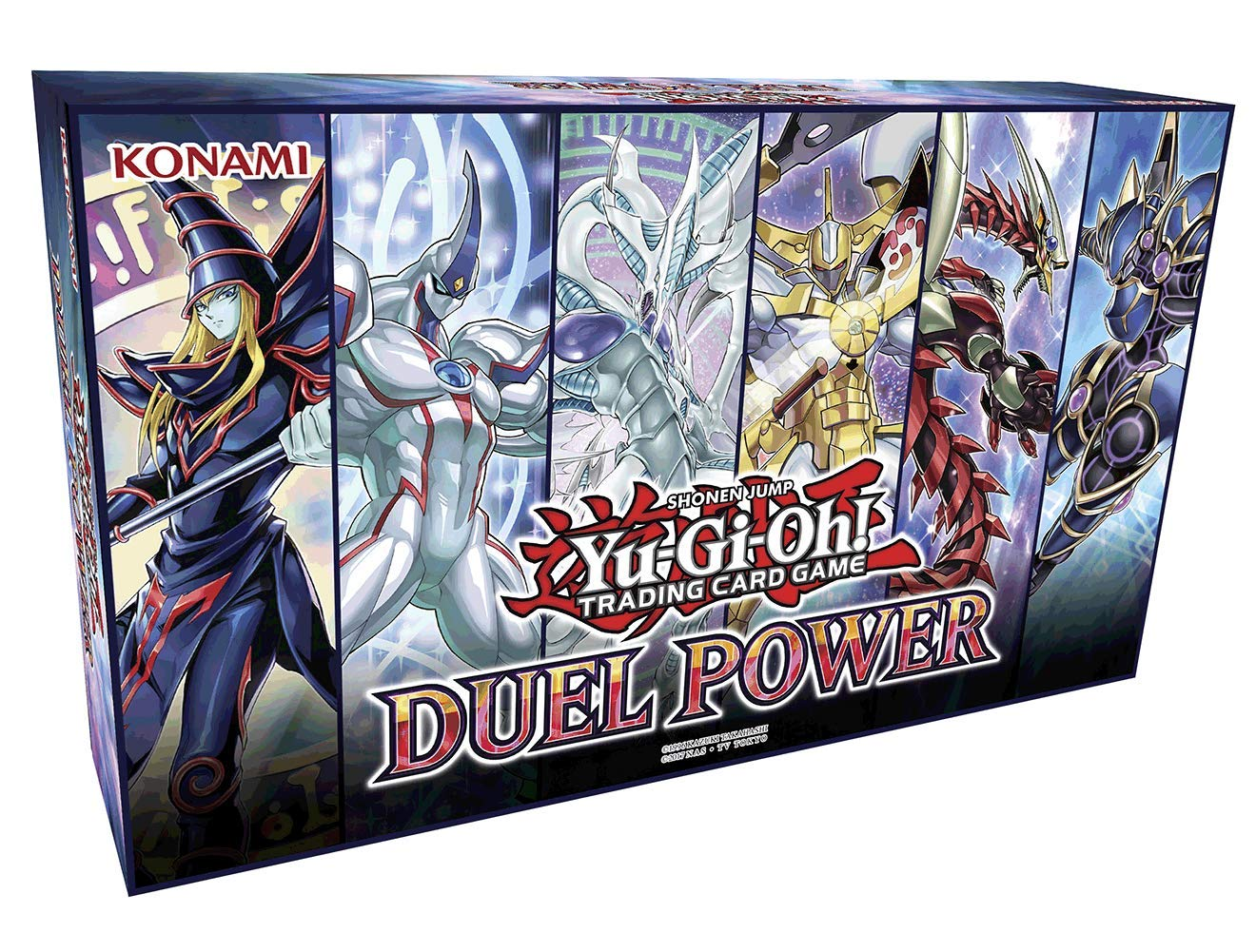 Yu-Gi-Oh! TCG: Duel Power Box Collector's Chest - 6 Rare Cards & Booster Pack