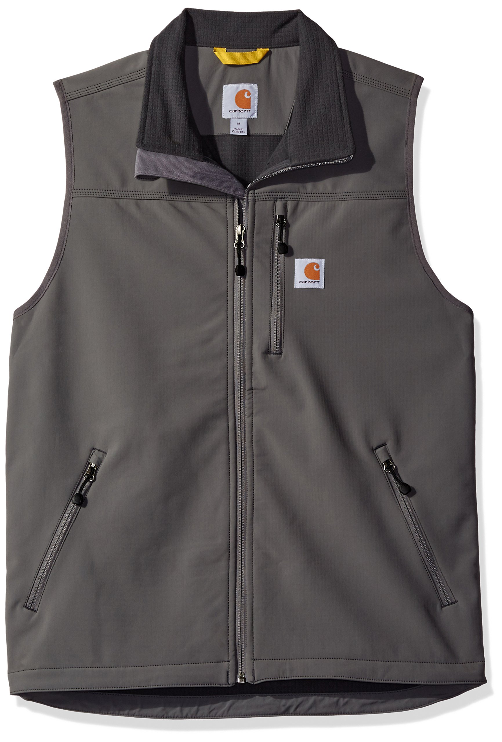 Carhartt Men's Denwood Vest, Charcoal, 2X-Large by Carhartt